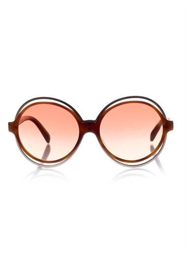 Emilio Pucci  Ep 0055 53Z Kadın Güneş Gözlüğü Kahve